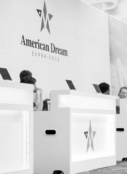 The American Dream Experience event